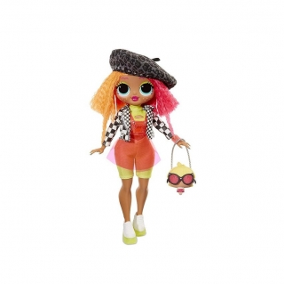 Кукла LOL Surprise OMG Neonlicious Doll MGA 20 сюрпризов