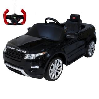 Детский электромобиль Rastar Range Rover Evoque 12V черный
