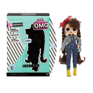 Кукла ЛОЛ ОМГ 2 серия Busy B.B. MGA