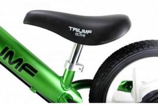 Беговел Triumf Active алюминиевый AL1201 TW с надувными колесами зеленый