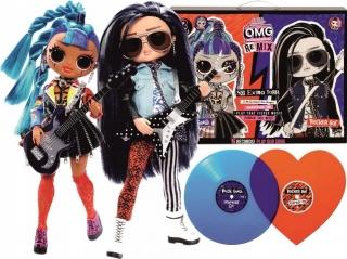 Набор кукол LOL OMG Remix Rocker Boi и Punk Grrrl 567288