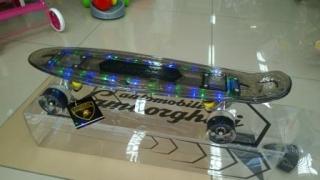 Скейтборд Lamborghini с LED-подсветкой 9933E
