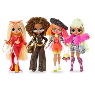 Куклы LOL Surprise OMG, набор кукол 1 серия, сет из 4 кукол, 80 сюрпризов, MGA, 422020