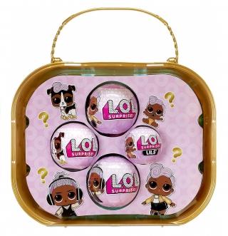 Чемодан L.O.L. Surprise OMG 24K D.J. Family + 45 сюрпризов 423133