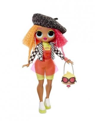 Кукла LOL Surprise OMG Neonlicious Doll MGA 20 сюрпризов