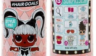 LOL Surprise Makeover Series 5 куклы Лол Сюрприз с настоящими волосами MGA
