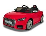 Детский электромобиль Rastar Audi TTS 12V красный