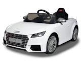 Детский электромобиль Rastar Audi TTS 12V белый