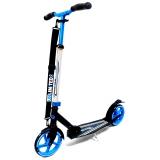 Самокат Unlimited NL500R-205, c велосипедным рулем черно-синий
