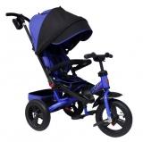 Велосипед Trike трехколесный TA5B поворотное сиденье синий