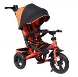 Велосипед Trike трехколесный TA5O поворотное сиденье оранжевый