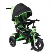 Велосипед Trike трехколесный TA5P поворотное сиденье зеленый