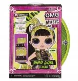 Кукла LOL Surprise OMG Ремикс Rock Bhad Gurl 15 сюрпризов 577584