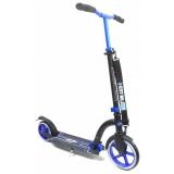 Самокат Unlimited NL300R-230 с велосипедным рулем синий