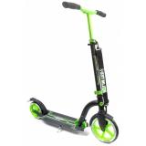 Самокат Unlimited NL300R-230 с велосипедным рулем зеленый