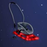 Санки Snow Baby Dream со светодиодами KHW красные