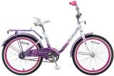 """Велосипед 20"""" Stels Pilot 200 Girl (2016) светло-фиолетовый"""