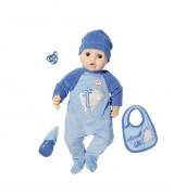 Интерактивный пупс Zapf Creation Baby Annabell Мальчик, 43 см, 701-898