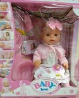Кукла Baby Love с бантиком на голове