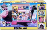 LOL Сюрприз самолет OMG Remix 4-in-1 Plane Playset Transforms - 50 сюрпризов