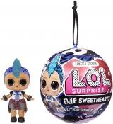 Куклы Лол Валентинка, Supreme original, BFF Sweethearts Rocker ind Punk Boi, Valentine's Doll