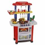 Детская кухня игровая с водой и аксессуарами Happy Little Chef 768A, 33 предмета