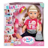 Кукла интерактивная, Baby Born sister