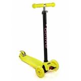 Самокат со светящимися колесами Maxi Flash SKL-07L Triumf Active Желтый